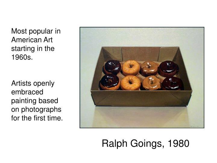 Ralph Goings, 1980