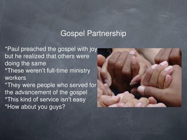 Gospel Partnership