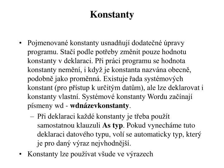 Konstanty