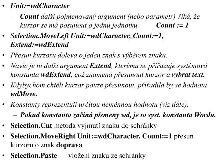 Unit:=wdCharacter