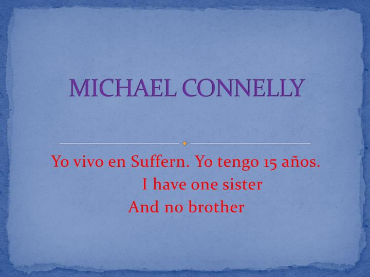 michael connelly n.