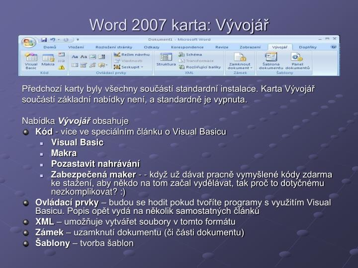 Ppt Word 2007 Powerpoint Presentation Id 4511703