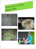 projectweek in de klas februari 2009