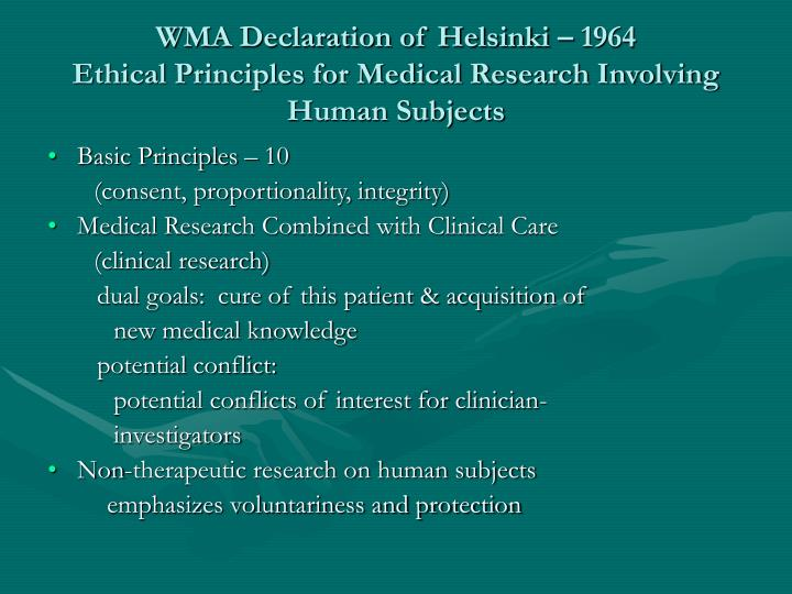 medical research on human subjects essay Medical human subject research often involves analysis of biological specimens, epidemiological and behavioral studies and medical chart review studies.
