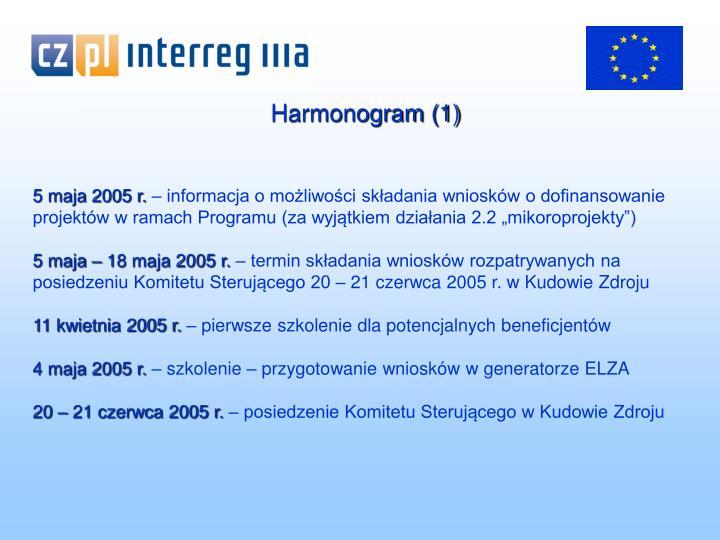 Harmonogram (1)