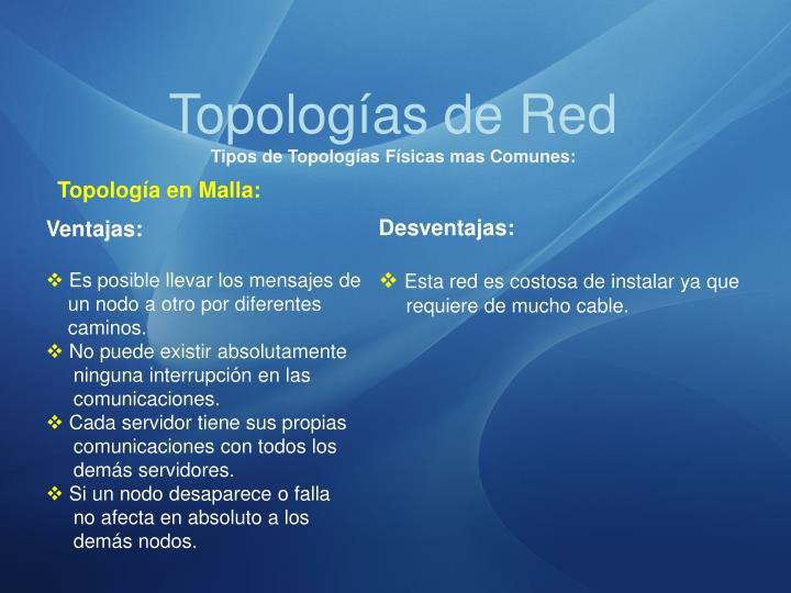 Topologías de Red