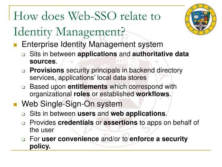 How does Web-SSO relate to
