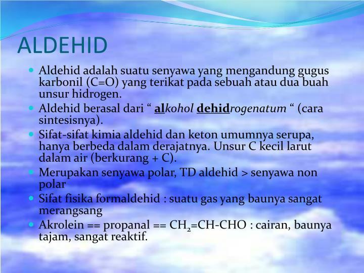 ALDEHID