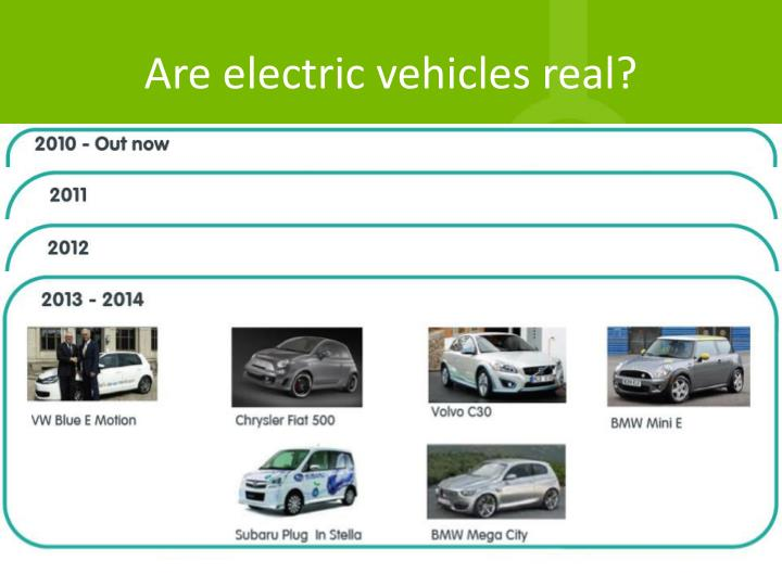 Are electric vehicles real
