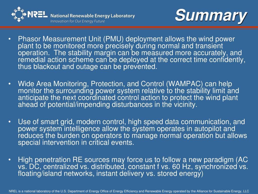PPT - Eduard Muljadi National Renewable Energy Laboratory Golden CO