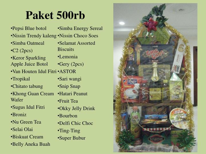 Paket 500rb