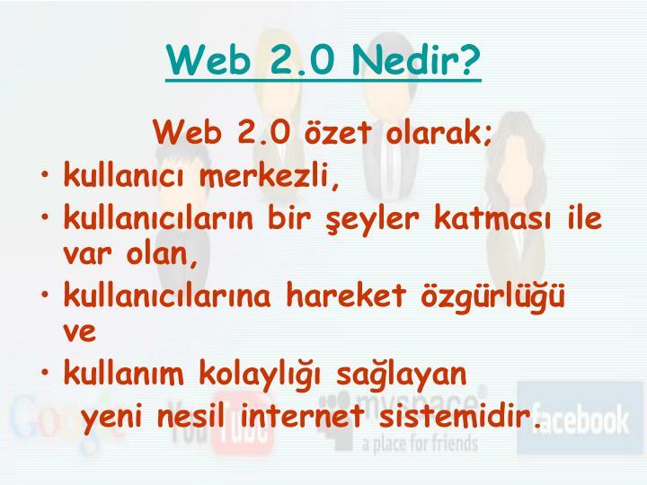 Web 2 0 nedir