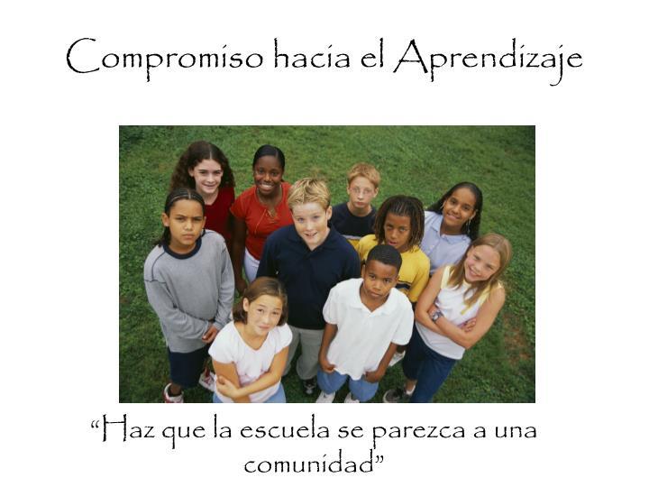 Compromiso hacia el Aprendizaje
