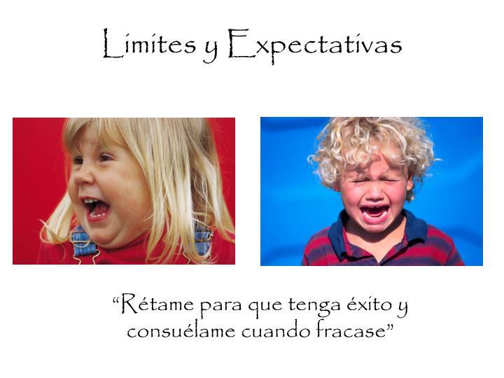 Limites y Expectativas