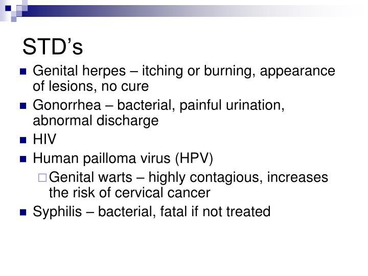 STD's