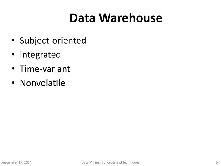 data mining and warehousing techniques Data mining (dm) is a combination of database and artificial intelligent used to provide useful information to both technical and non-technical users which will help them to make.