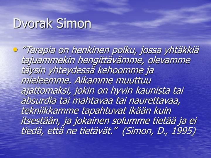 Dvorak Simon