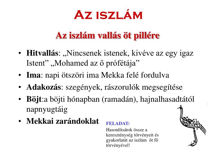 Az iszlám