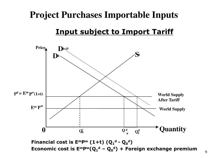 Project Purchases Importable Inputs