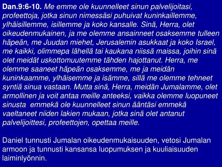 Dan.9:6-10.