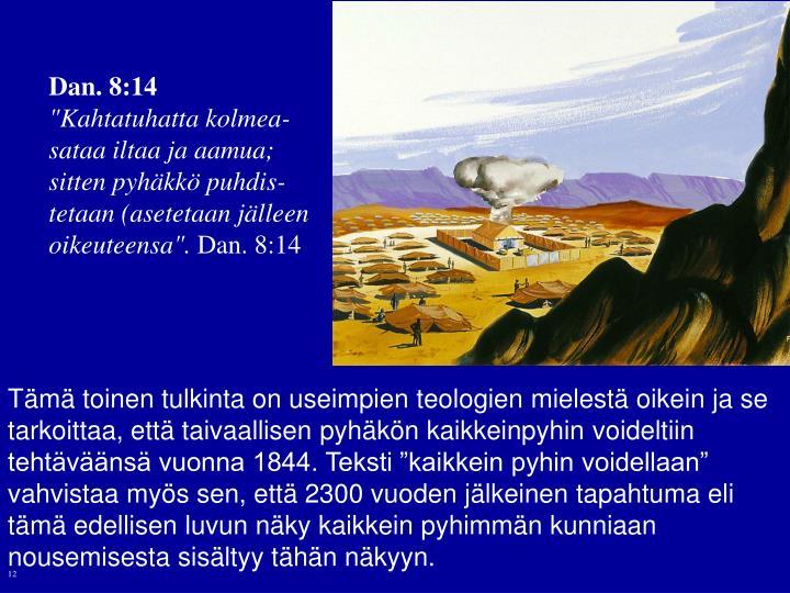 Dan. 8:14