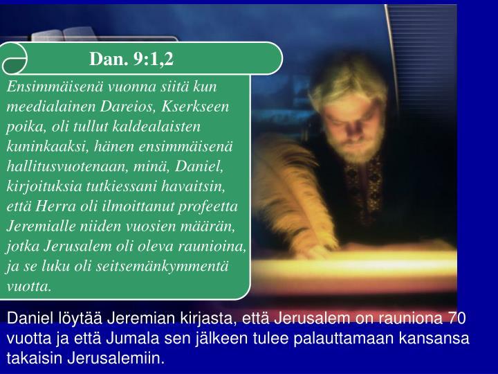 Dan. 9:1,2