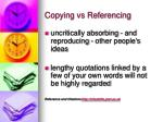 copying vs referencing