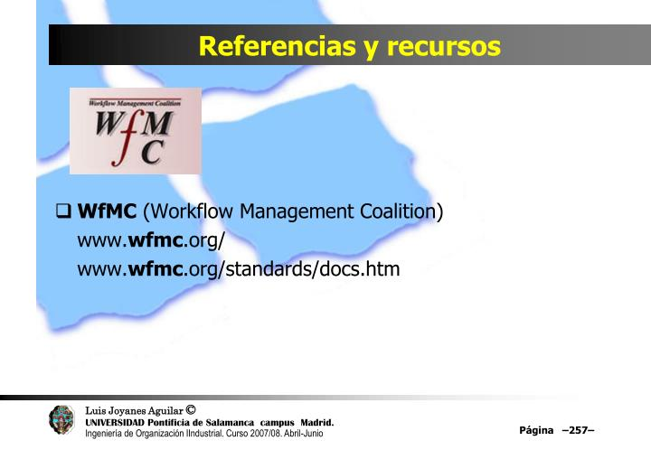 Referencias y recursos