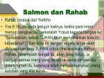salmon dan rahab