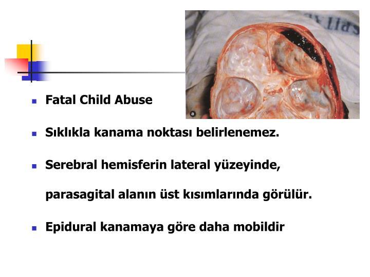 Fatal Child Abuse