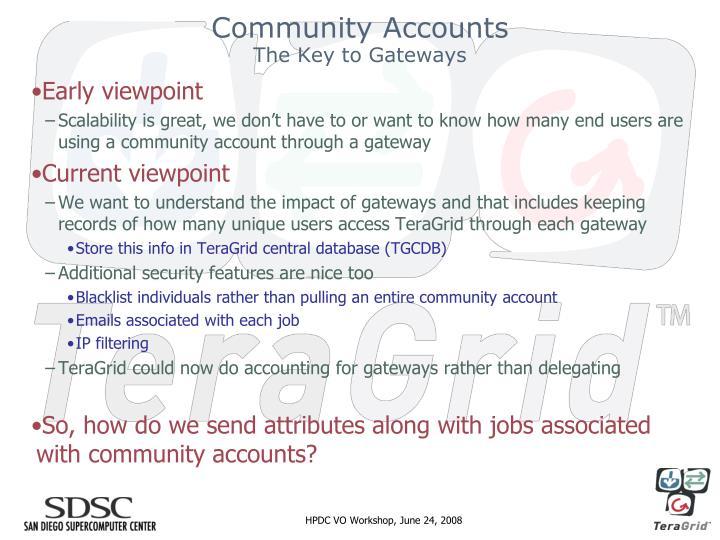 Community Accounts