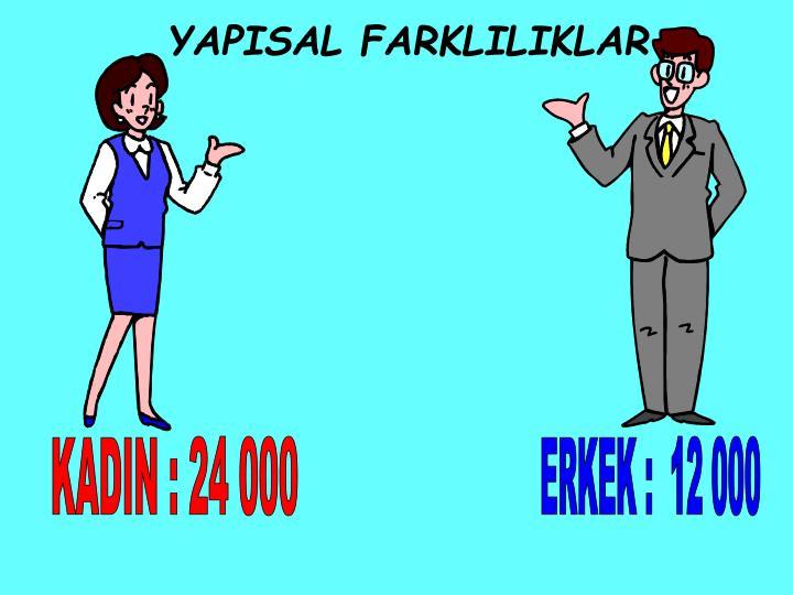 YAPISAL FARKLILIKLAR