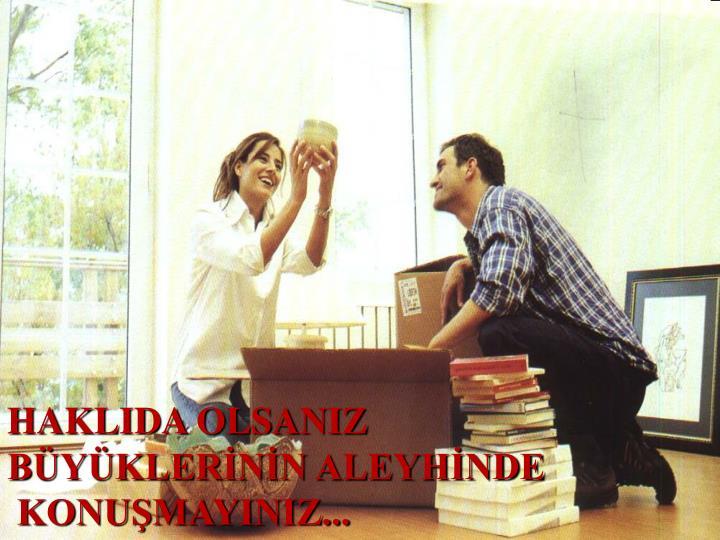 HAKLIDA OLSANIZ