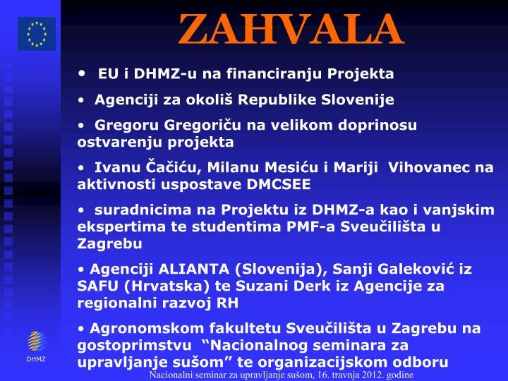 ZAHVALA