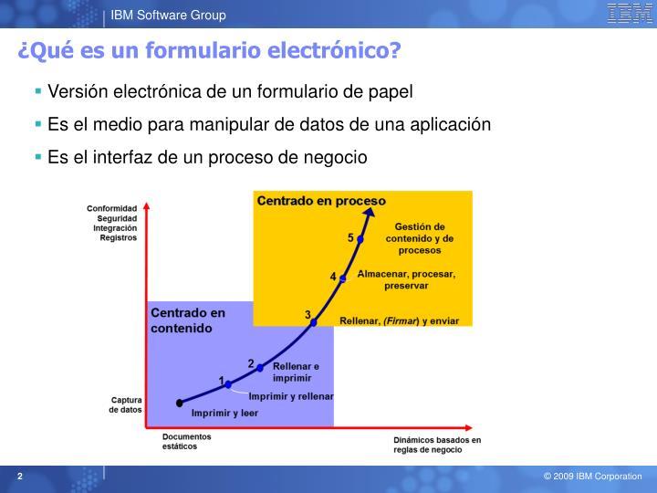 Qu es un formulario electr nico