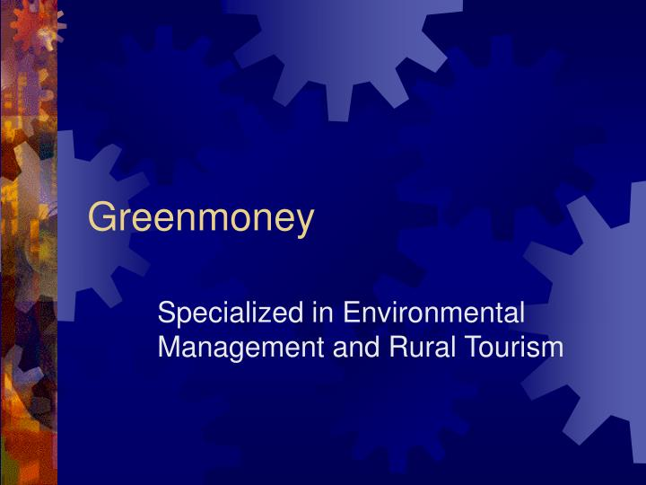 Greenmone y