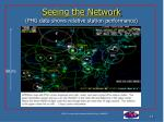 seeing the network phg data shows relative station performance