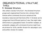 organizational structure types4