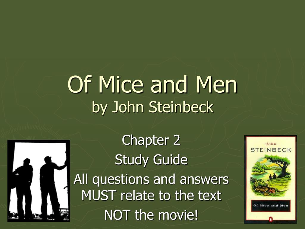 of mice and men by john steinbeck n.
