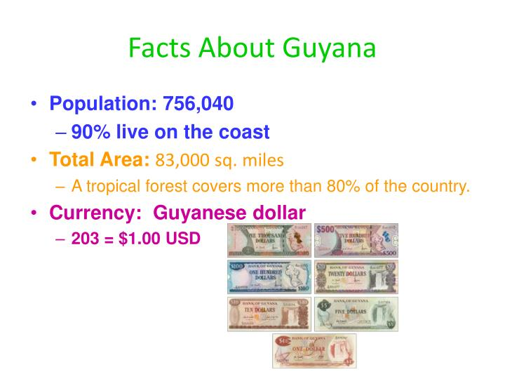 Facts about guyana