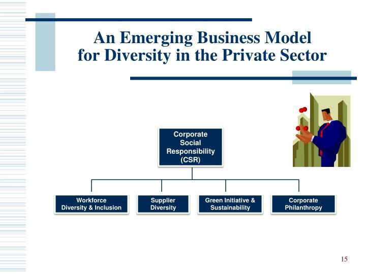 An Emerging Business Model