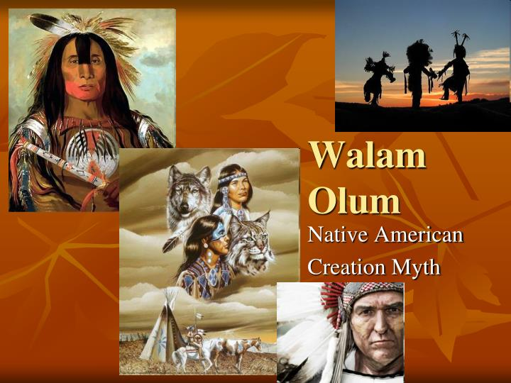 a comparison of creation myths of walam olum manito and god The project gutenberg ebook of myths of the cherokee the myths given in this paper are part of a large the ancient name used in the walam olum chronicle of.