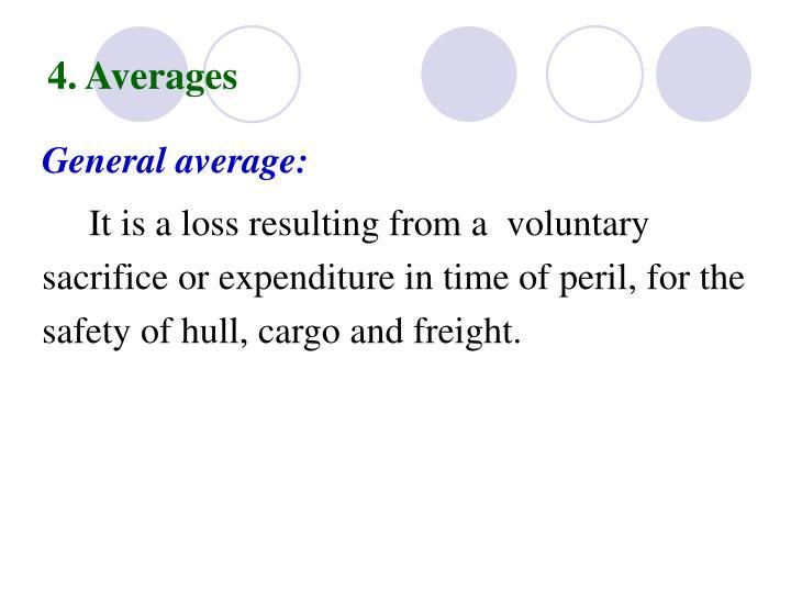 4. Averages