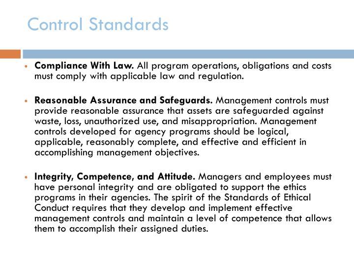 Control Standards
