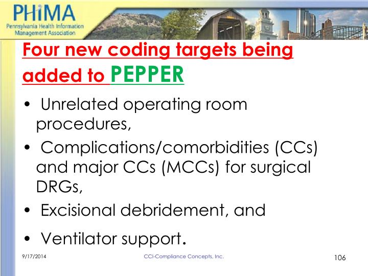 Four new coding targets being added to