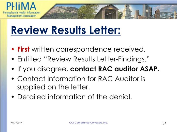 Review Results Letter: