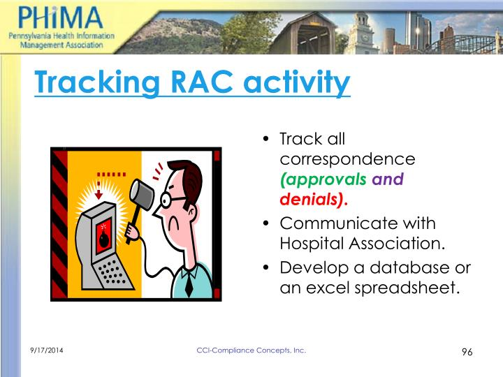 Tracking RAC activity