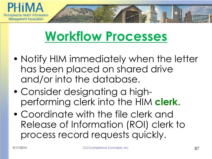 Workflow Processes