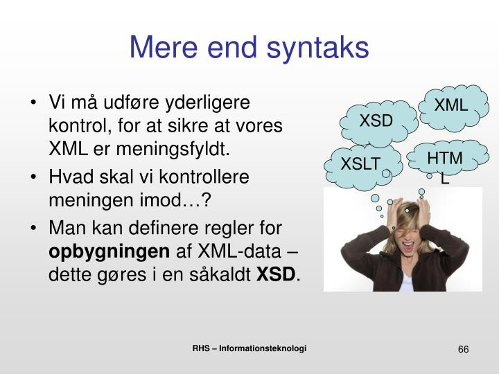 Mere end syntaks