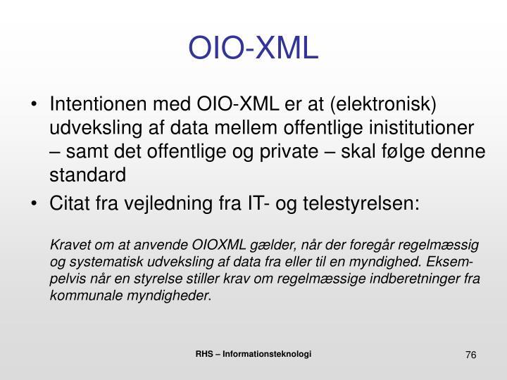 OIO-XML